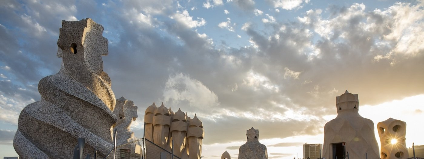Closing ceremony in the UNESCO World Heritage La Pedrera